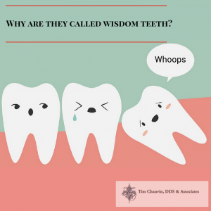 why are they called wisdom teeth