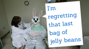 tooth friendly easter basket