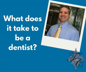 what does it tke to be a dentist dr chauvin lafayette la dentist