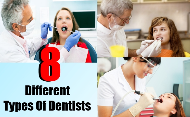 types of dentists